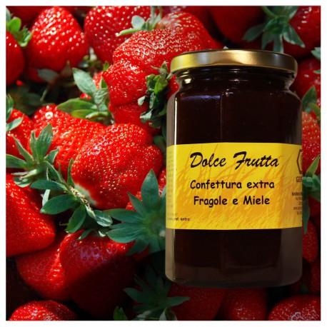 Confettura extra di fragole e miele