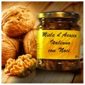 Honey with dry fruit walnuts