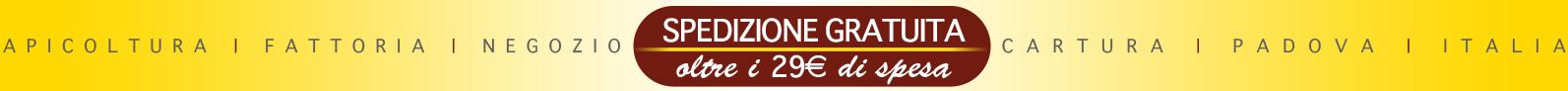Miele Più Giarin: Spedizione gratuita con un minimo di 29€ di spesa!